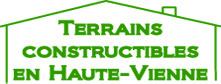 Terrains constructibles en Haute-Vienne